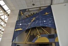 华盛顿特区, 8月5日:航海时钟在从华盛顿特区的Smithonian国家宇航博物馆在美国 库存照片