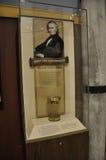华盛顿特区, 8月5日:计时表信息在从华盛顿特区的Smithonian国家宇航博物馆在美国 免版税库存图片