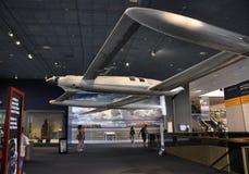 华盛顿特区, 8月5日:飞机在从华盛顿特区的Smithonian国家宇航博物馆在美国 库存照片