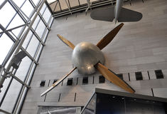 华盛顿特区, 8月5日:飞机细节在从华盛顿特区的Smithonian国家宇航博物馆在美国 库存图片