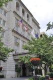 华盛顿特区, 2017年7月5日:从华盛顿哥伦比亚区的历史建筑在美国 免版税库存照片