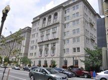 华盛顿特区, 2017年7月5日:从华盛顿哥伦比亚区的历史建筑在美国 图库摄影