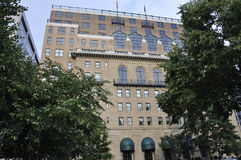 华盛顿特区, 2017年7月5日:从华盛顿哥伦比亚区的历史建筑在美国 免版税库存图片