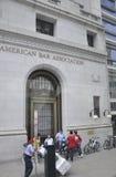 华盛顿特区, 8月5日:从华盛顿哥伦比亚特区的历史建筑入口 库存图片