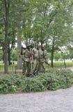 华盛顿特区, 8月5日:从华盛顿哥伦比亚特区的韩战纪念品 图库摄影