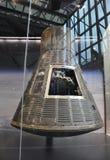 华盛顿特区, 8月5日:水星Frienship7航天器在从华盛顿特区的Smithonian国家宇航博物馆在美国 库存照片