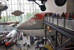 华盛顿特区, 8月5日:Smithonian从华盛顿特区的国家宇航博物馆内部在美国 免版税库存照片