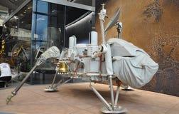华盛顿特区, 8月5日:Viking1航天器在从华盛顿特区的Smithonian国家宇航博物馆在美国 免版税库存照片