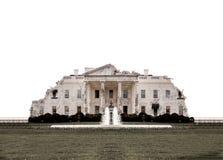 华盛顿白宫破坏了 库存图片