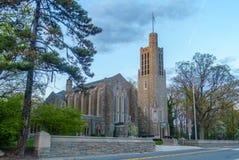 华盛顿纪念品教堂 免版税图库摄影