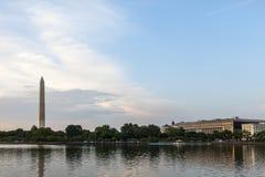 华盛顿纪念品 图库摄影