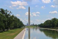 华盛顿纪念碑,华盛顿, D C 库存照片