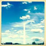 华盛顿纪念碑,购物中心,华盛顿特区, 免版税库存图片