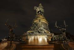 华盛顿纪念碑-费城 免版税图库摄影