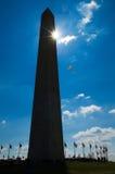 华盛顿纪念碑 免版税库存照片
