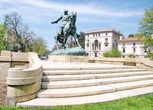 华盛顿菲利普谢里登Statue将军2010年 免版税图库摄影