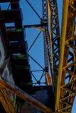 华盛顿铁路平旋桥从下面 库存图片