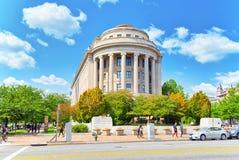 华盛顿,美国,城市的都市都市风景 联邦贸易Comm 免版税库存照片