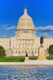 华盛顿,美国,美国国会大厦,伊利亚斯S 格兰特Memoria 免版税库存照片