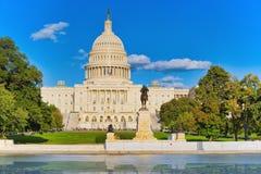华盛顿,美国,美国国会大厦,伊利亚斯S 格兰特Memoria 免版税库存图片