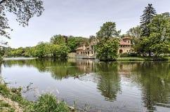 华盛顿Park湖 免版税库存照片