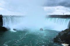 华美的尼亚加拉大瀑布! 图库摄影