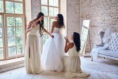 华美的新娘 免版税图库摄影