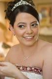 华美的新娘 免版税库存图片