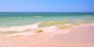 华美的海滩 图库摄影