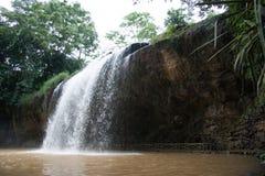 华美的瀑布、越南照片您的和您的设计 免版税库存图片