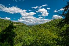 华美的自然风景视图 免版税图库摄影