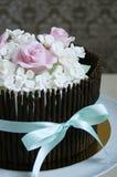 华美的蛋糕 库存照片