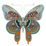 华美的蝴蝶 向量例证