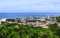 华hin市, Prachuapkhirikhan省,泰国 免版税库存图片