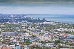 华Hin横向,泰国 免版税库存照片