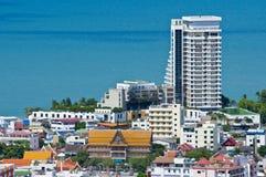 华Hin横向,泰国 库存照片