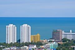 华Hin横向,泰国 库存图片