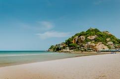 华hin海滩泰国 免版税库存图片