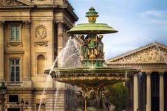 协和广场,巴黎 库存照片