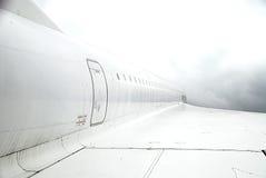 协和飞机翼 免版税图库摄影