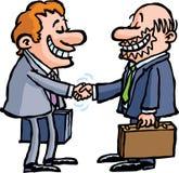 协议商业 免版税库存图片
