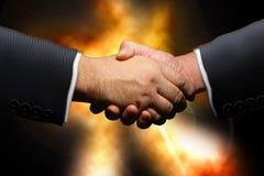 协议商业 免版税库存照片