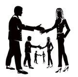 协议商业 免版税图库摄影