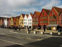卑尔根挪威 库存图片