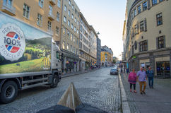 卑尔根挪威 图库摄影