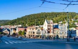 卑尔根挪威 免版税图库摄影
