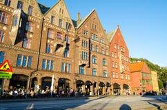 卑尔根挪威 免版税库存图片