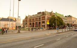 卑尔根挪威 免版税库存照片