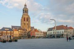 卑尔根教会gertrude操作圣徒缩放 库存照片