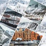从卑尔根的照片 免版税库存图片